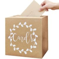 Rustic Country Card Holder Box (each)